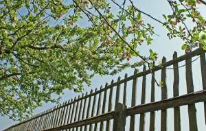 Zaun selbst bauen | GARTEN-GUI.DE