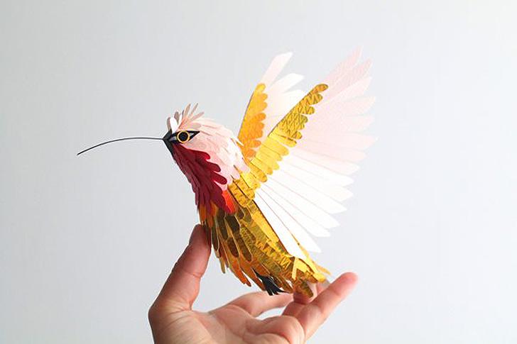 Papiervogel 1 | SCHÖNES ZUHAUSE