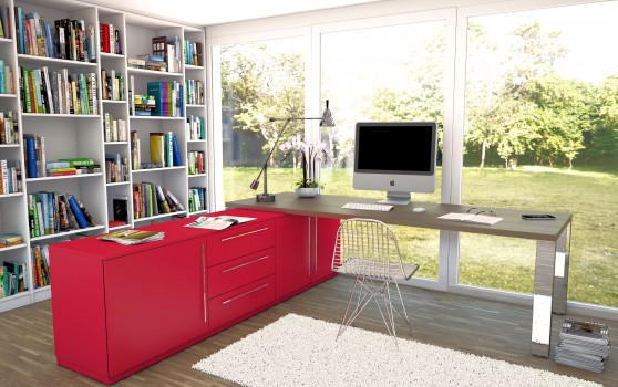 10 Tipps für das perfekte Arbeitszimmer in den eigenen vier Wänden. Foto: meine möbelmanufaktur