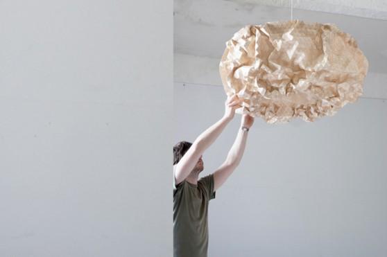 "Lampe ""Miss Maple"" von Elisa Strozyk. Foto: Sebastian Neeb"
