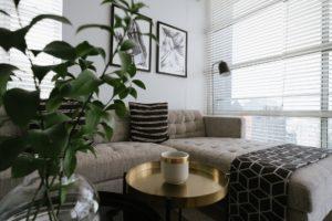 Wohnzimmer gemütlich machen