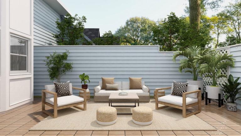 Garten und Terrasse auf Frühjahr vorbereiten
