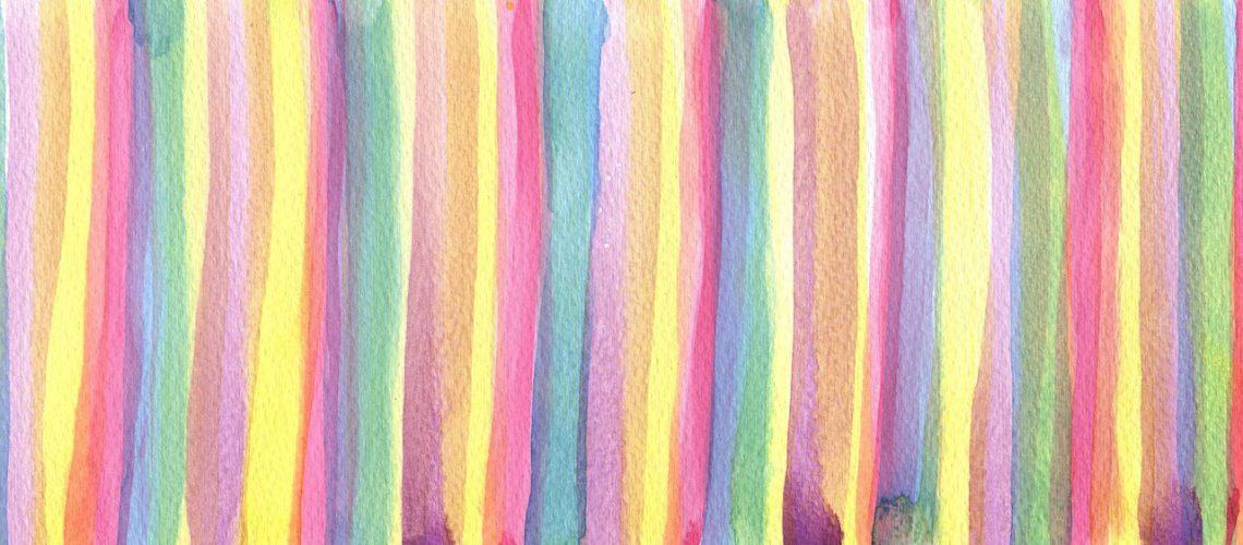 Wand mit Streifen streichen | SCHÖNESZUHAUSE